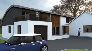 Architects, Sligo, HBK Architects, Zinc, House, Planning Permission