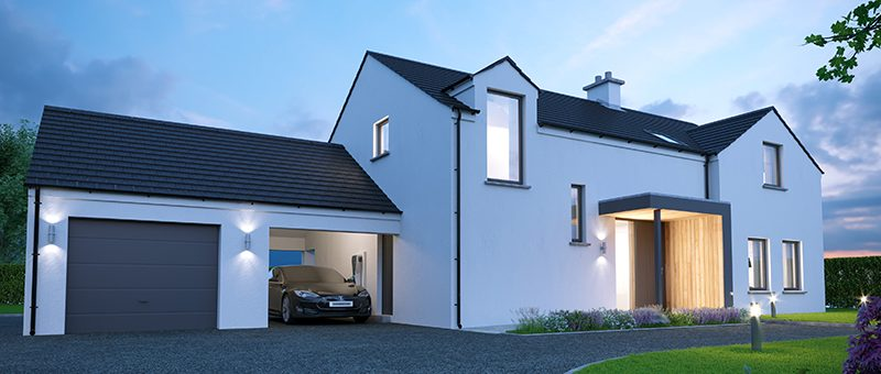 County Down Homes Start Onsite